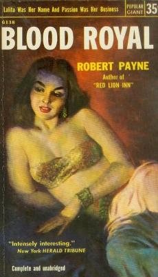 Blood Royal Robert Payne vintage sleaze books