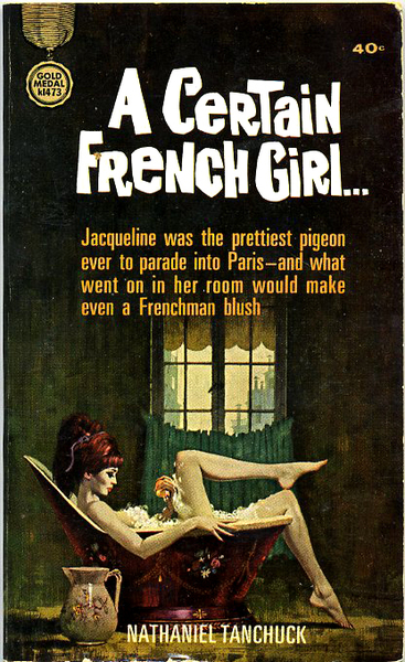 a certain french girl nathaniel tanchuck vintage sleaze book cover