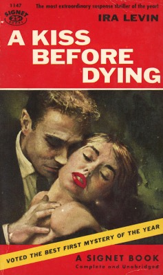A Kiss Before Dying ira levin island of sin vintage sleaze cover
