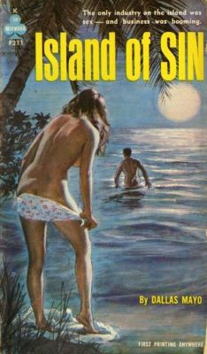 island of sin vintage sleaze cover