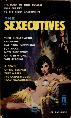 sexecutives lee richards vintage sleaze books
