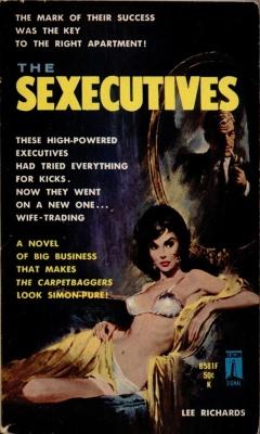 sexecutives lee richards vintage sleaze books