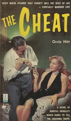 the cheat orrie  hit vintage sleaze covers