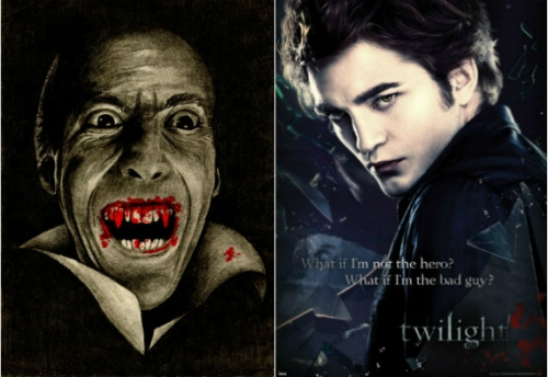 comparing vampires in twilight and bram stokers dracula Spoof on twilight movies this feature is not available right now please try again later.