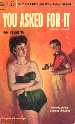 You Asked for It Ian fleming vintage sleaze cover