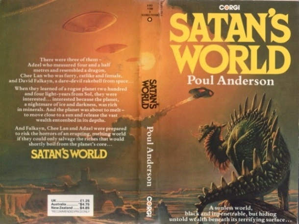 Bruce Pennington Satan's world poul Anderson