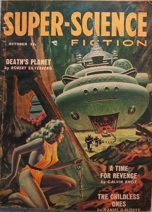 Vintage Super science fiction